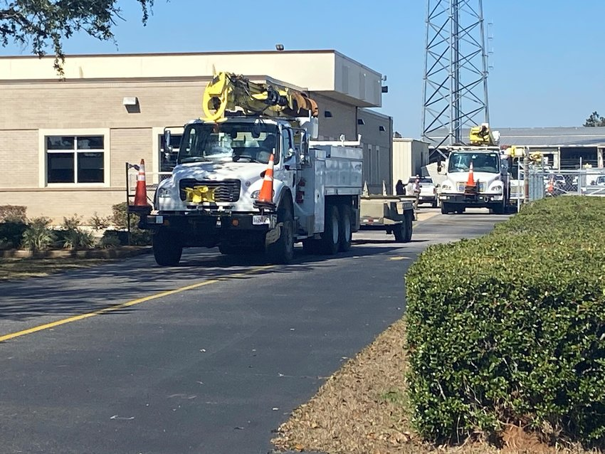 Baldwin EMC crews depart Tuesday, Feb. 16 to provide winter storm mutual aid in Mississippi.