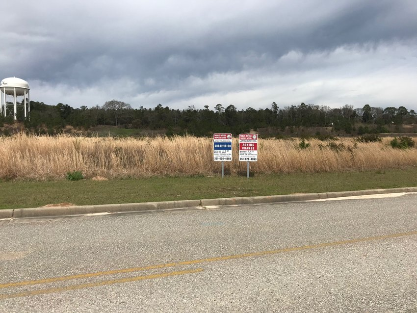 An Amazon distribution center had been planned on Bass Pro Drive. On Monday, Amazon announced that the center would be built in another community.
