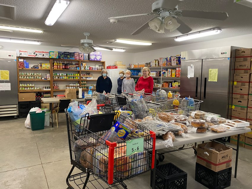 The Christian Service Center in Gulf Shores stocks a variety of food items for residents in need.