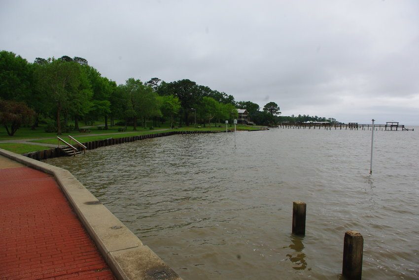 Bulkhead improvements and a pavilion are planned on South Beach under the Fairhope Working Waterfront plan being considered by the City Council.