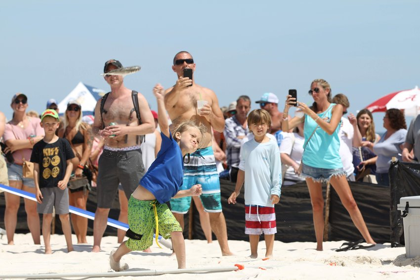 The Interstate Mullet Toss and Gulf Coast's Greatest Beach Party fun starts Friday, April 23 and runs through Sunday.
