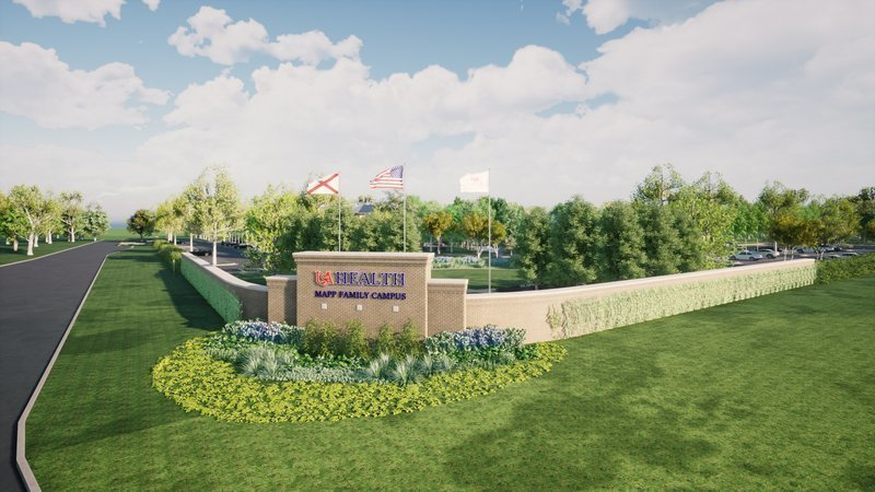 Work is expected to begin on the Mapp Family Campus of USA Health by late summer or early fall.