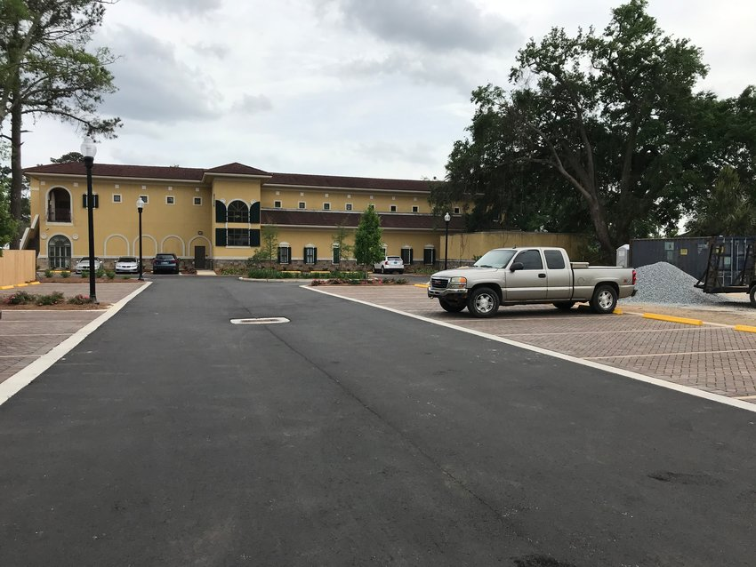 Increased access at the new parking lot at Daphne City Hall is expected to improve traffic flow on Main Street. The City Council approved the project on April 19.