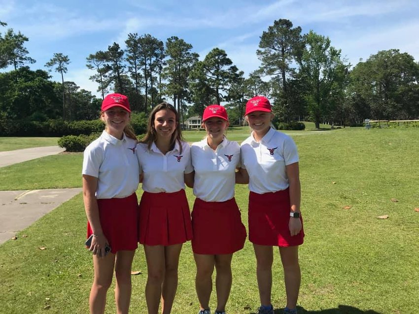 Spanish Fort High 2021Girls Golf.