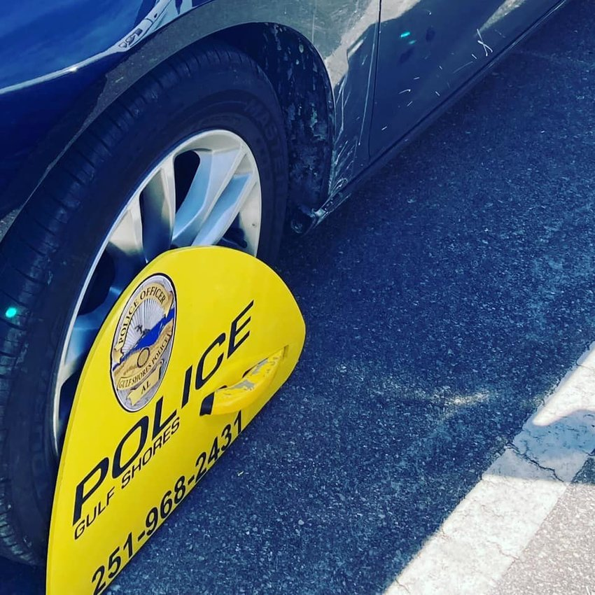 Gulf Shores Police Department has started placing parking boots on vehicles with repeated parking offenses.
