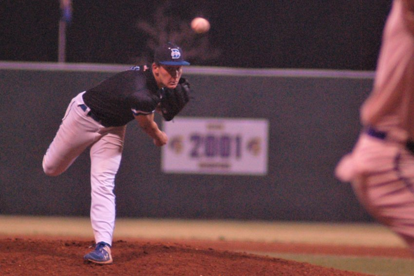 Bayside righthander Josh Gunther brings the heat for the Admirals.