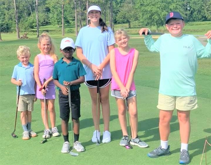 Holly Hills Municipal Golf Course youth golf clinics by Mikki Bjuro are back in the swing for 2021.