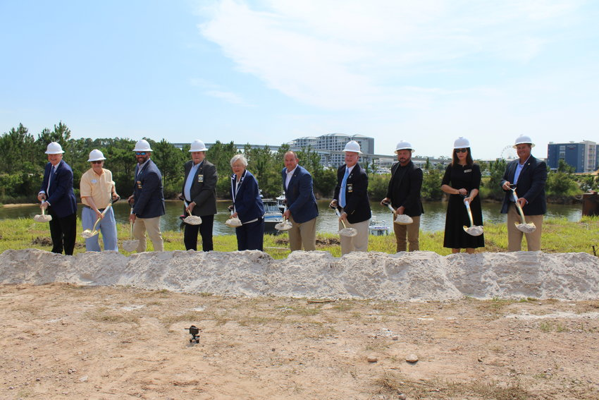 Governor Kay Ivey joined state and local officials to officially break ground on The Launch at ICW in Orange Beach.