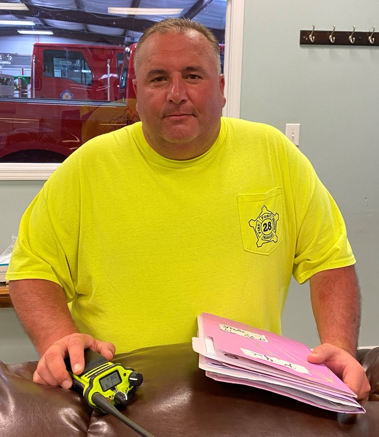 Craig Rohman was appointed as the new Fire Chief for Fort Morgan Volunteer Fire Department
