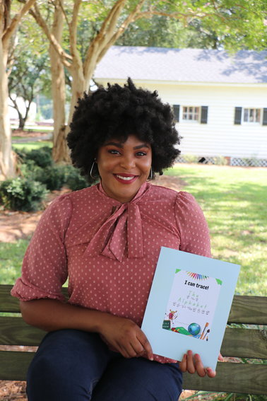 D'natia Kennedy designed and published a traceable alphabet workshop that also introduces students to the American Sign Language alphabet (ASL).