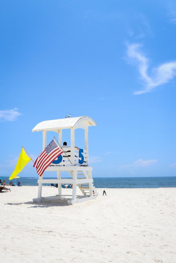 Flags, lifeguards and now daily texts will help beach visitors understand dangerous surf conditions at Baldwin County beaches.