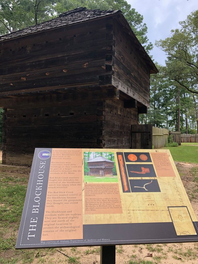 New signs were recently added to the Fort Mims historical site in North Baldwin County. The annual re-enactment of the Fort Mims massacre will be held this weekend.