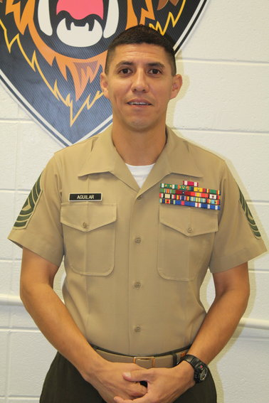 First Sgt. Charles G. Aguilar