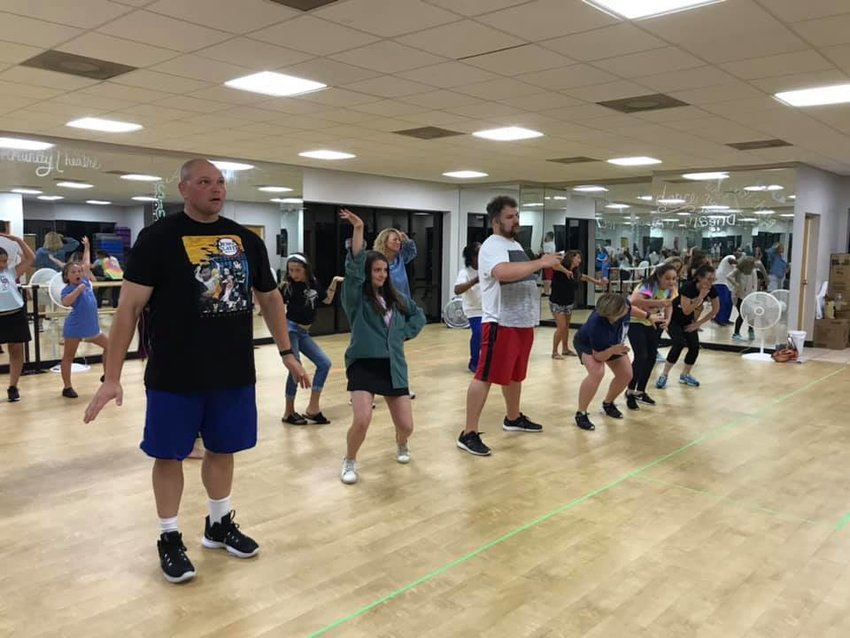 The cast of The Addams Family have been working hard to prepare for opening night Oct. 7.