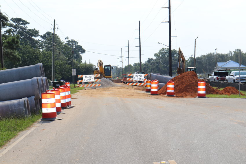 Work on Twin Beech Road east of U.S. 98 is complete, allowing traffic to nearby schools to use the road without detours.