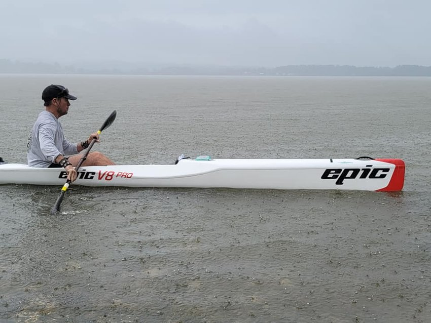 The Great Alabama 650, the longest annual paddle race got underway Sept. 19. Racers braved the rain and cold as they started the 650-mile journey to Fort Morgan.