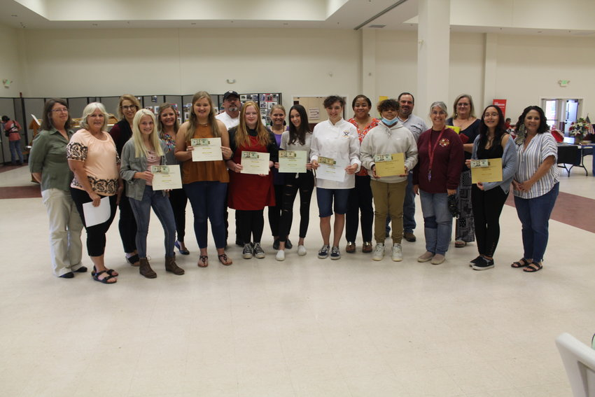 Participants, their parents, judges and coordinators are pictured following the FCCLA's annual Sweet Potato Contest held Wednesday, Sept. 22 during the Baldwin County Fair at the Baldwin County Coliseum in Robertsdale.