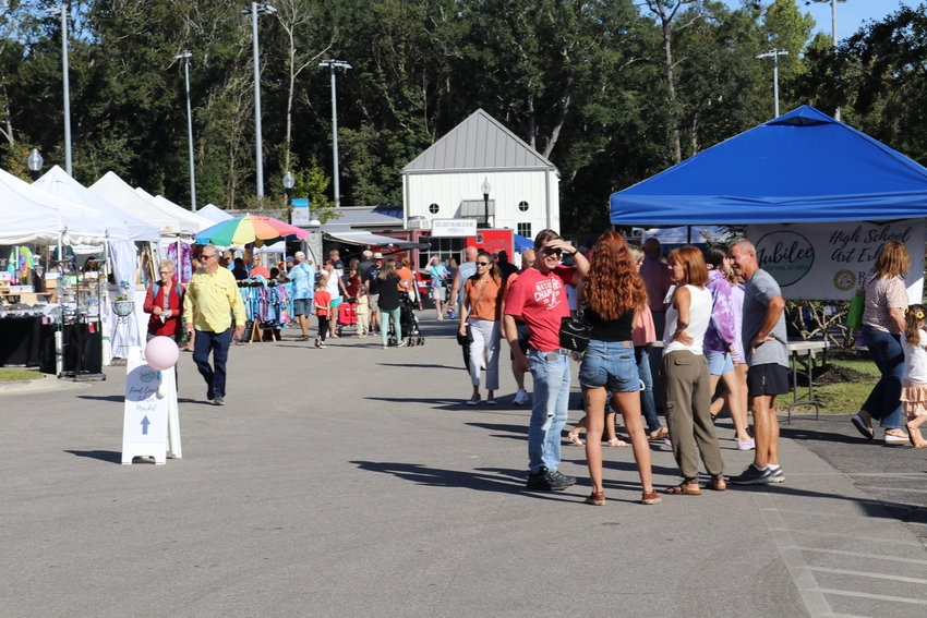 The 32nd annual Jubilee Festival of Art was held Oct. 16 and 17 in downtown Daphne.