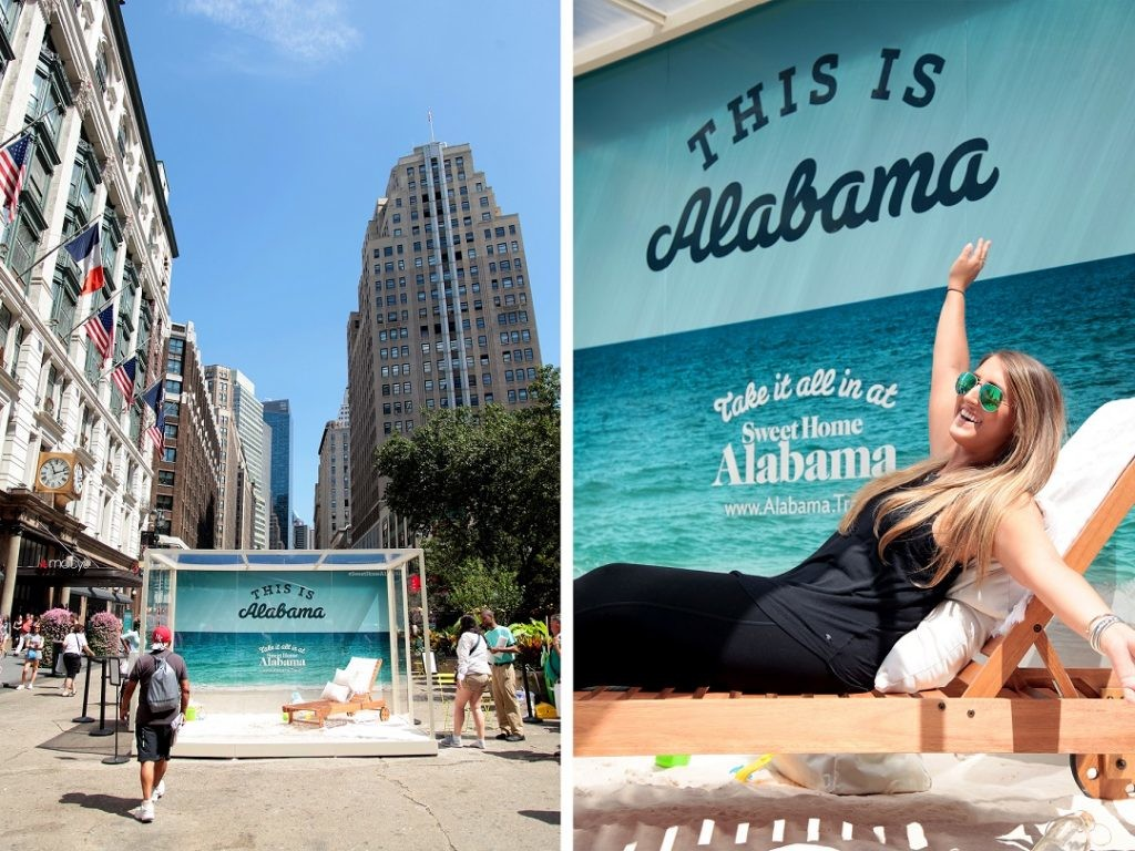 Promoting Alabama's beaches, food and music