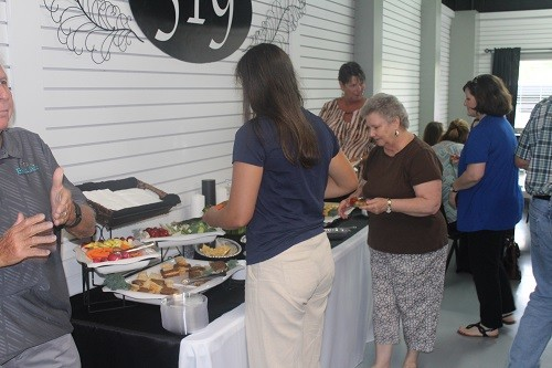 Crowds enjoyed food and networking at the Central Baldwin Chamber of Commerce Business After Hours Aug. 9 at L.A. BBQ & Catering's 519 Events Center in Summerdale. The event was hosted by L.A. BBQ and Pen Air Federal Credit Union of Robertsdale.