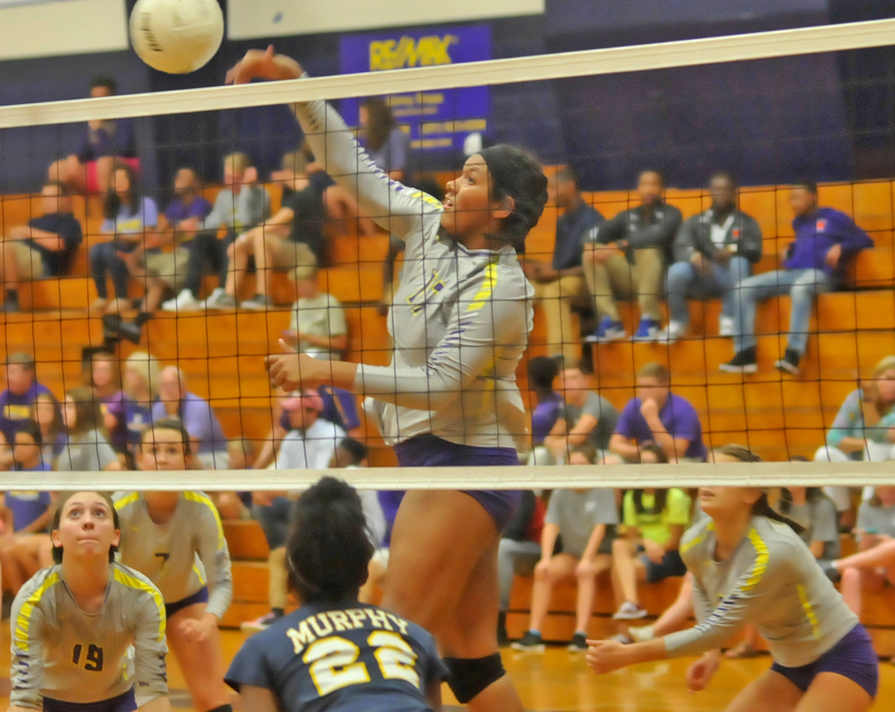 Bri Turner hits for Daphne in home opener