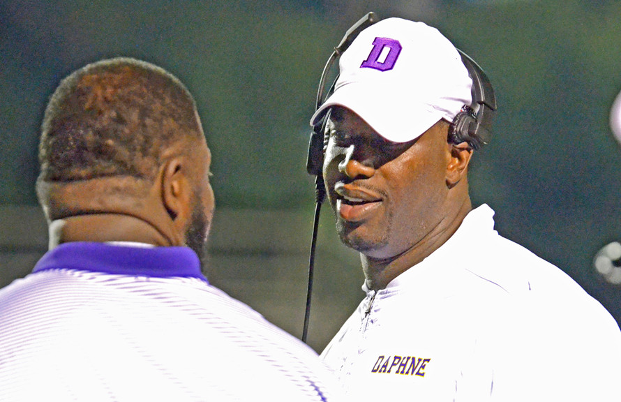 Image result for kenny king daphne football coach