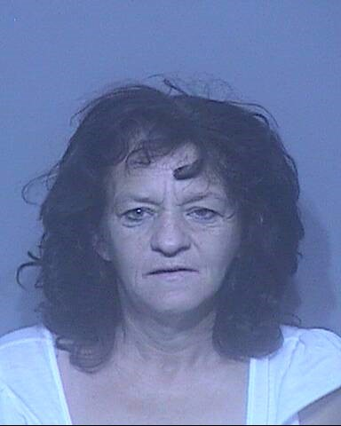 Linda Jean Morin of Foley was arrested for third degree domestic violence.