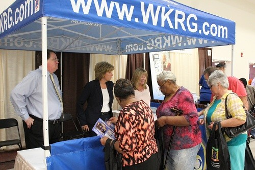 Personalities from WKRG News 5 were on hand.