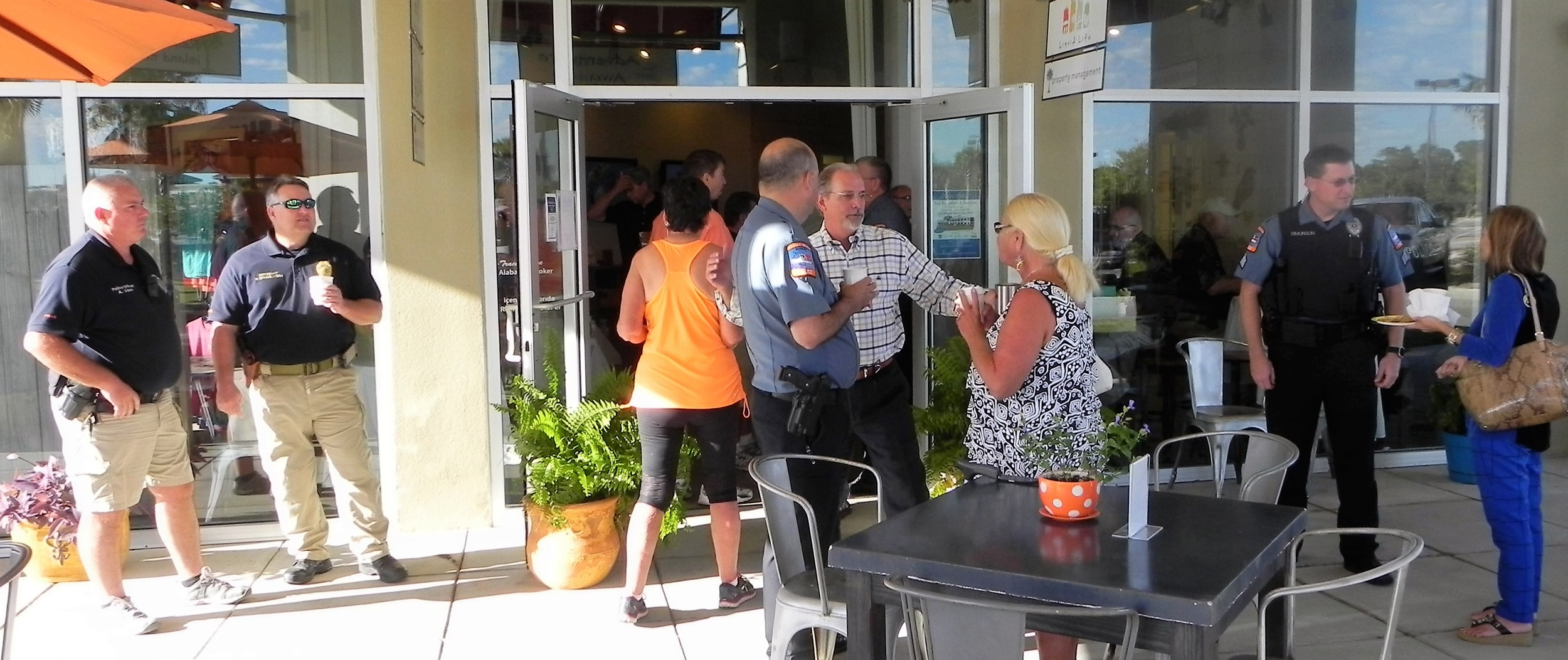 A nice crowd 