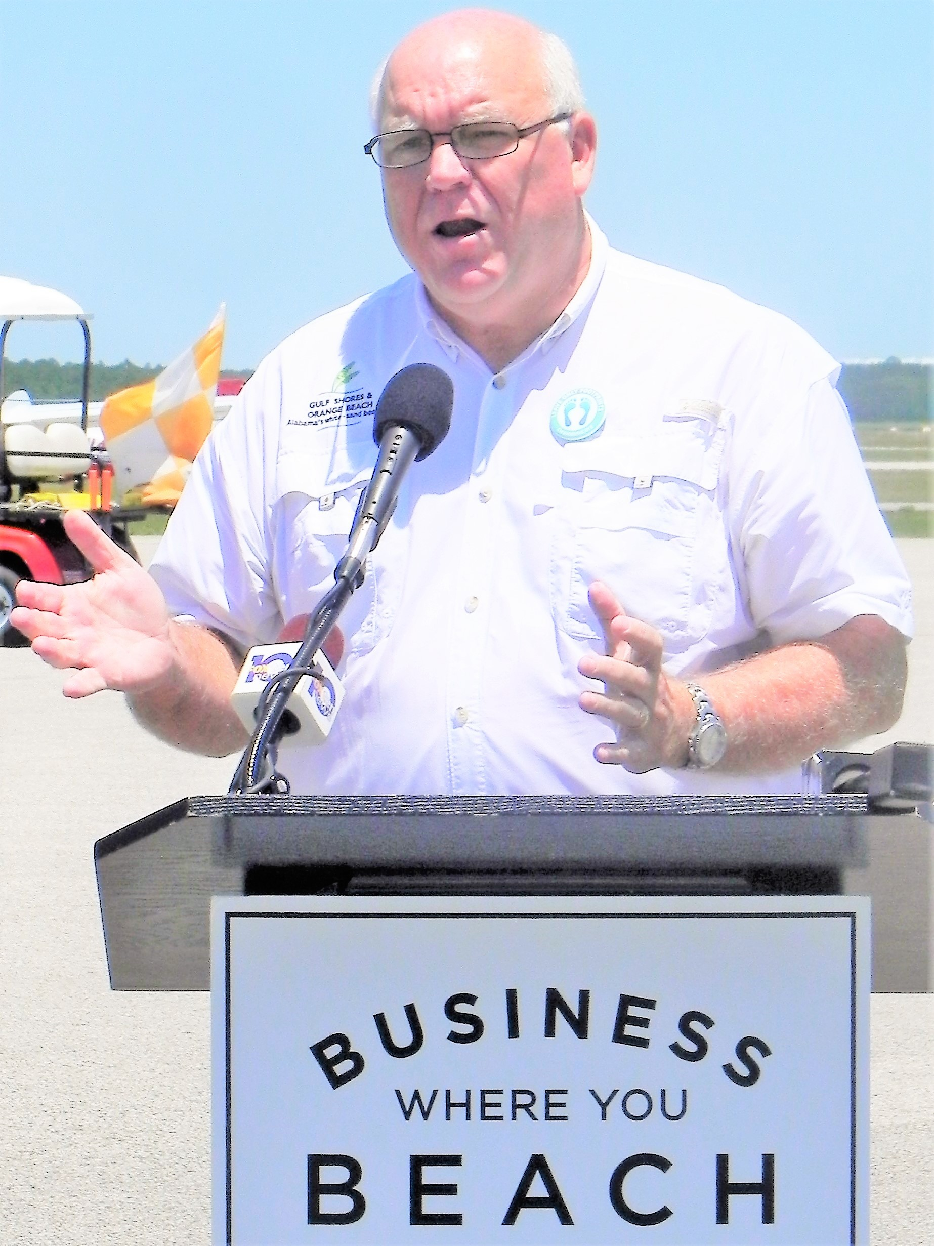 Herb Malone of Gulf Shores and Orange Beach Tourism.