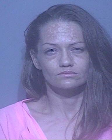 Nichole Kathryn Cline-Ikerd of Silverhill was arrested for possession of a controlled substance.