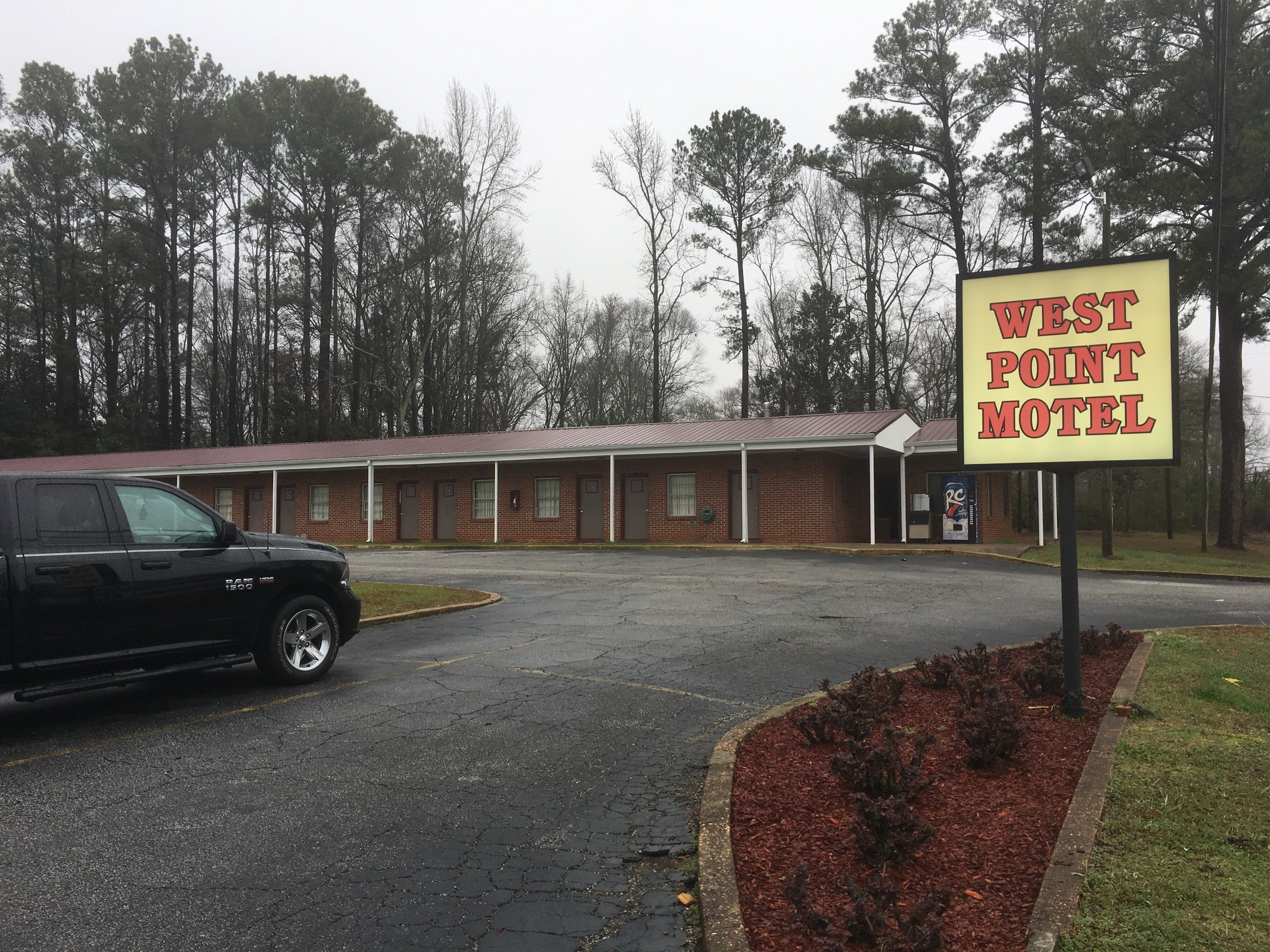 "Room 12 of the West Point Motel in West Point, Ga., is where authorities tracked alleged murderers William ""Billy"" Boyette and Mary Rice. Following a three hour standoff with law enforcement officials, Rice surrendered and Boyette died from a self-inflicted gun shot wound."