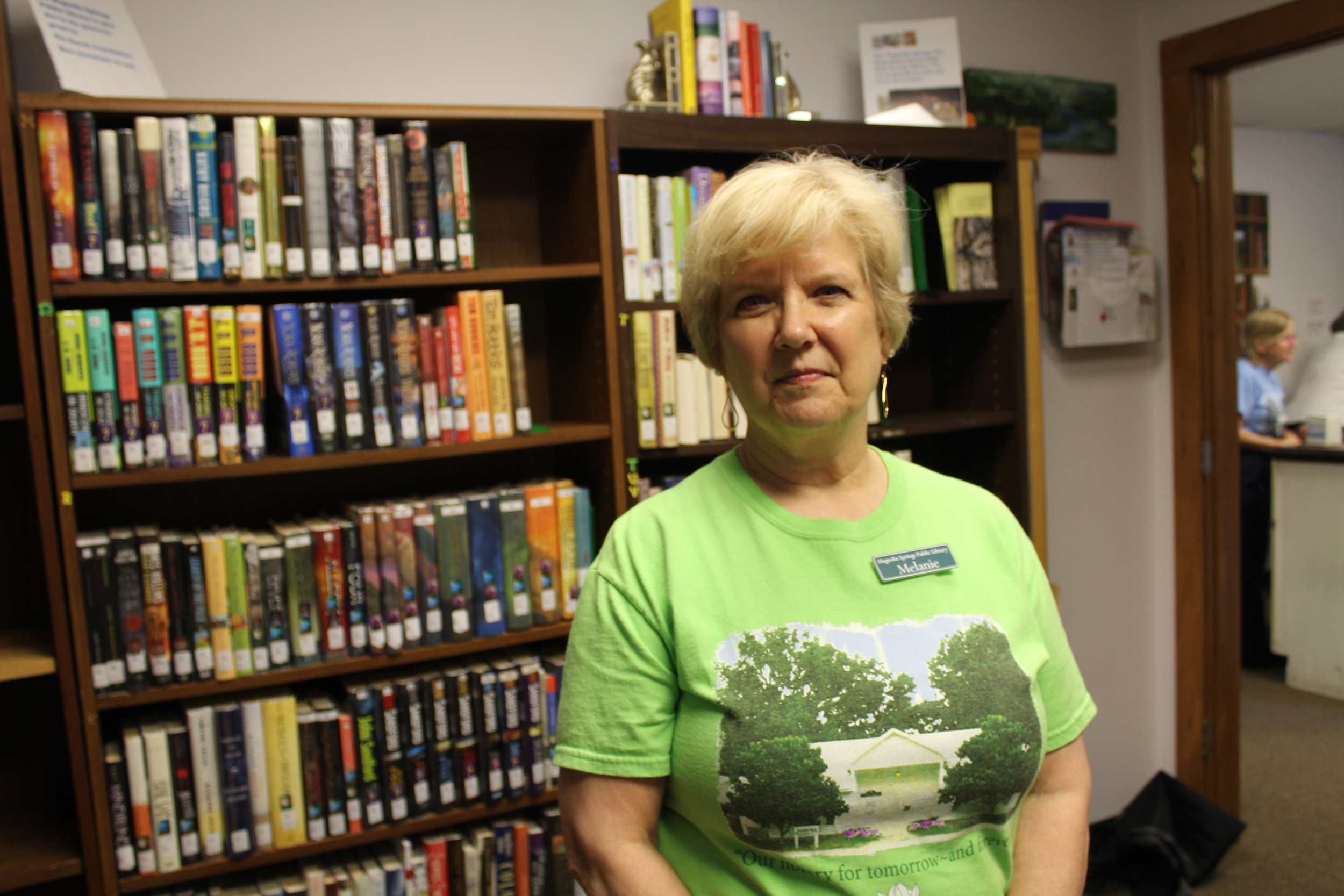Melanie O'Donnell took the position as librarian of the Magnolia Springs Public Library on Feb. 1.