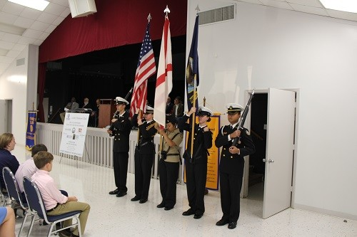 Presentation of Colors by the Robertsdale High School JROTC.