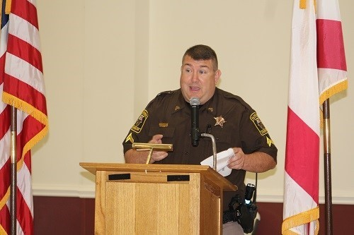 Cpl. Jeff Spaller, coordinator of the BCSO's school resource program.