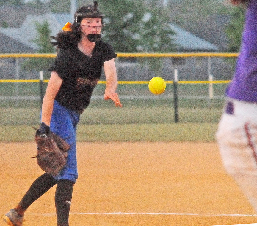 Bella Wiggins tossed three straight wins including a shutout in bracket play for Fairhope.