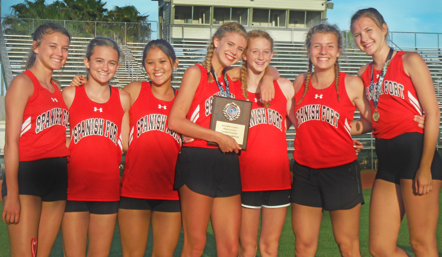 The Spanish Fort Toros, 2017 Baldwin County Girls Track and Field  Champions