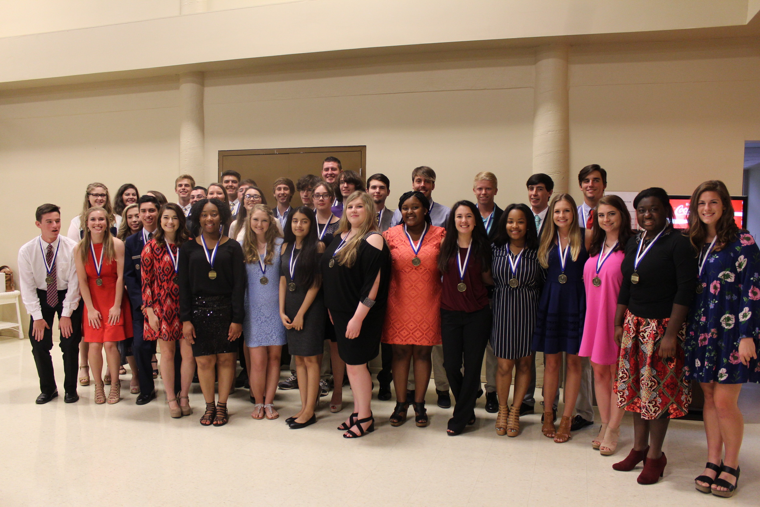 A record breaking number of students from Foley High School will receive the highest diploma in 2017. The students were recognized and celebrated during a ceremony held in their honor on May 11.