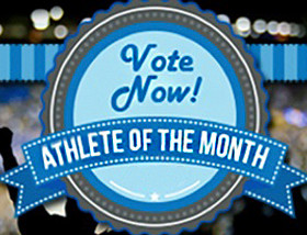The United States Sports Academy has announced its Athlete of the Month ballot for May and public voting is in progress.