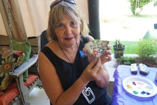 Lynn McAllister hosted Fairhope Rocks to help residents make new friends and spread positivity through the city.