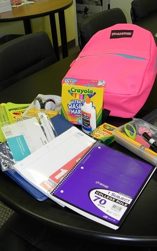 Catholic Social Services Project R.E.A.CH. school supply program began signups this week and will begin giving out supplies to local school students later this month.