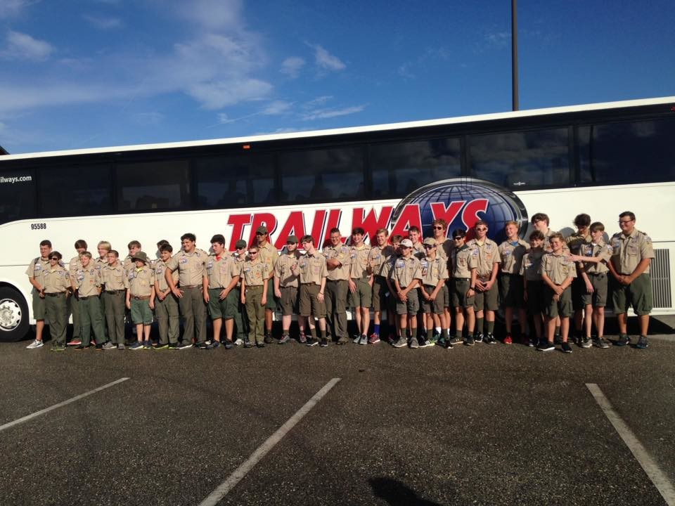Boy Scouts from Mobile, Baldwin, Washington and Clarke counties are attending the BSA National Jamboree in West Virginia.