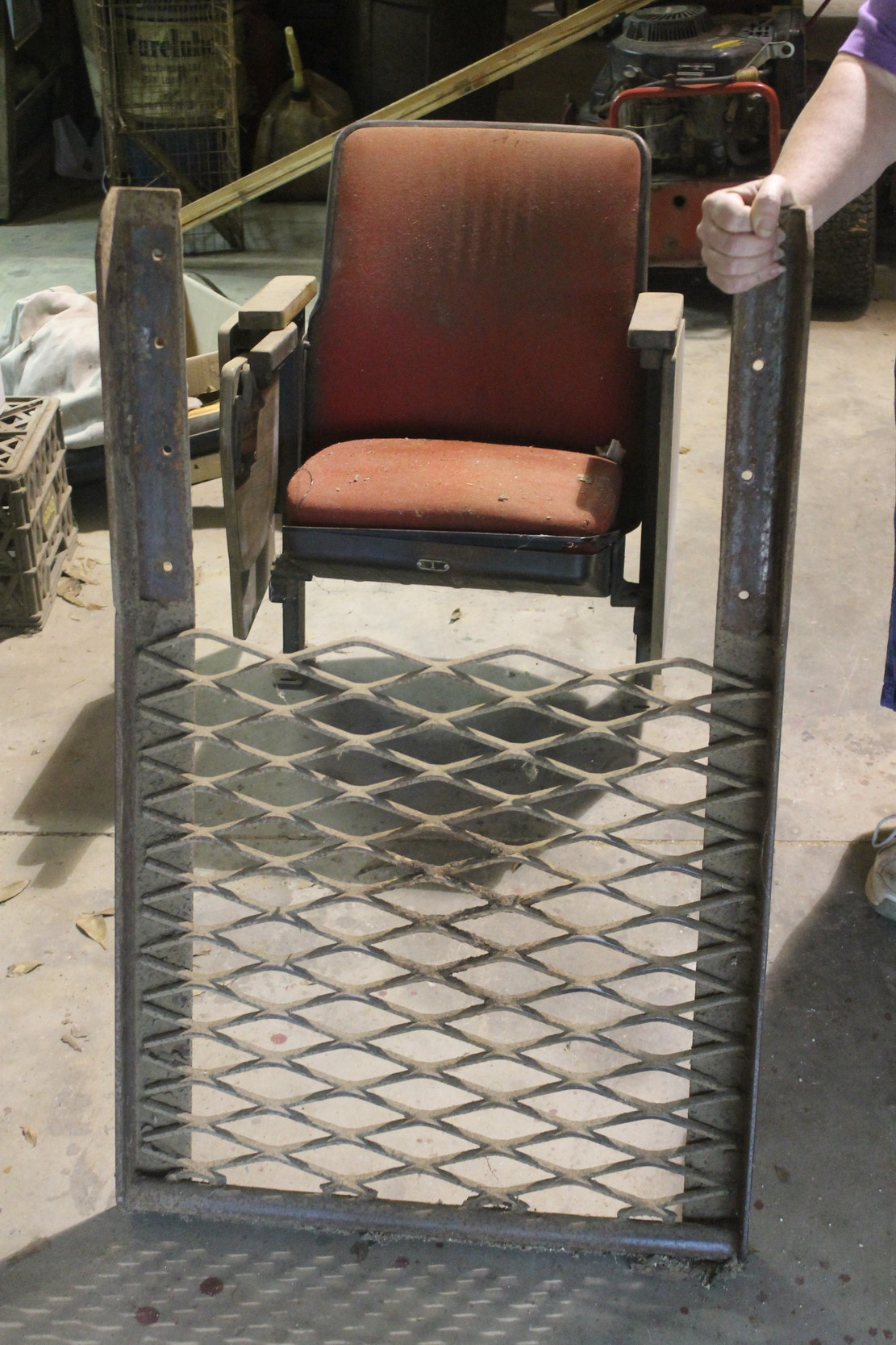 The Baldwin County Heritage Museum is seeking donations to build a new display for the Robertsdale stockyard's auctioneer chair.