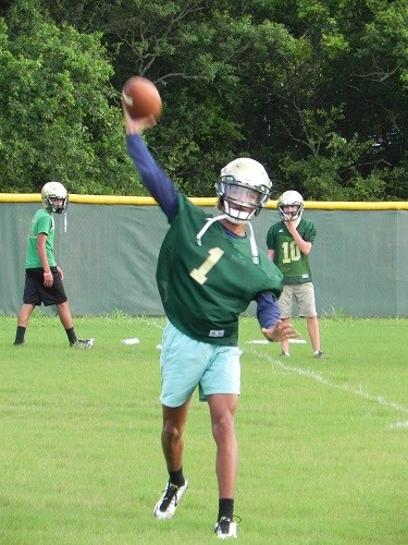 Junior quarterback Andre Stephenson.