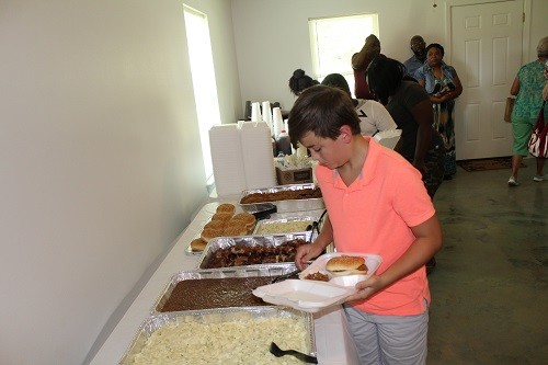 Food for the event was provided by Teresa's Country BBQ in Bay Minette.