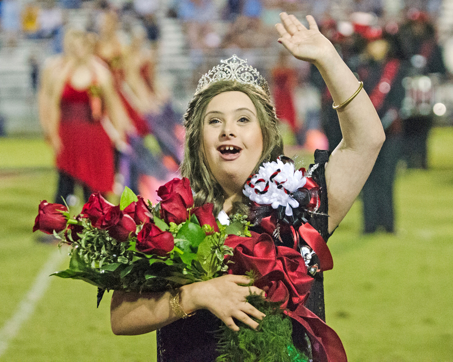 Kate Sharp was named 2017 Spanish Fort High Homecoming Queen.