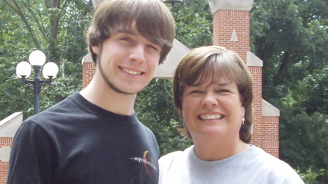 Lydia Barber lost her son, Allen Barber, to suicide in 2010.