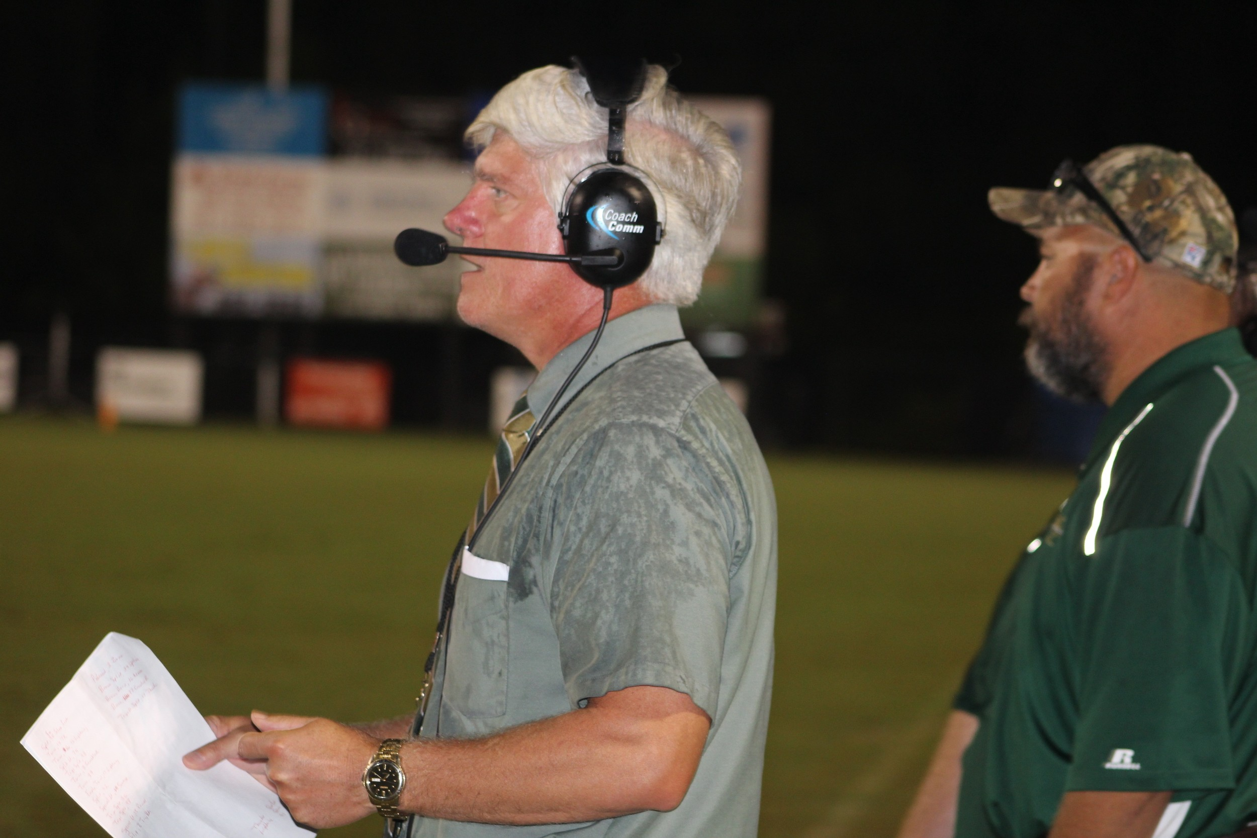 Coach Keith Smith leads the Snook Christian Academy Eagles into Homecoming Friday night. Though they did not gain victory over the South Walton Seahawks, the Eagles are remain at 3-2 heading into a break in their first-ever varsity season.