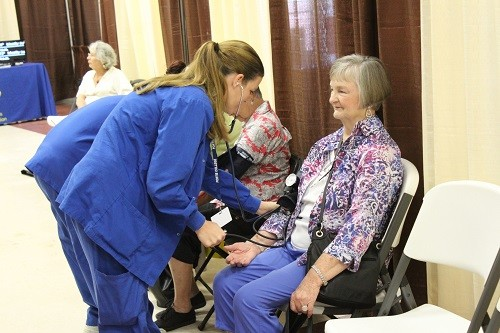 The annual Baldwin County Senior Lifestyle Expo features screenings provided by South Baldwin Regional Medical Center staff.