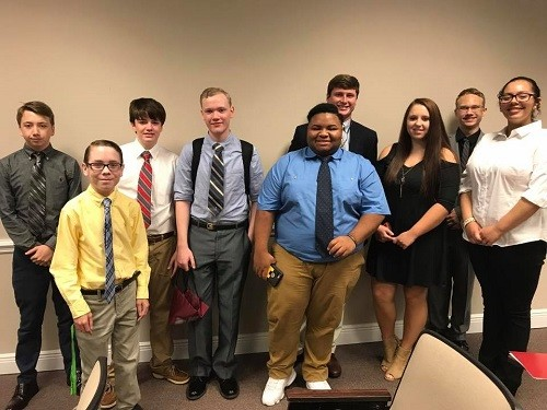 FBLA students from Baldwin County High School brought home numerous awards from county-wide competition held recently.